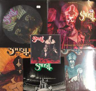 Ghost  Ceremony & Dev.  Hard On  sleeve & other swedish pressings