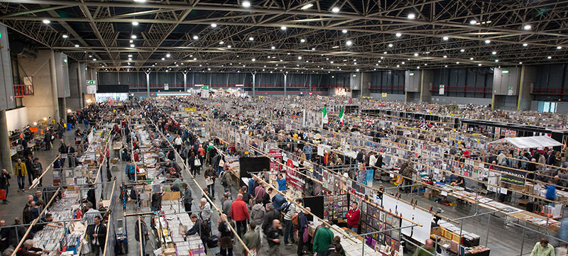 Arc record planet the worlds biggest record fairs for Jaarbeurs utrecht 2016