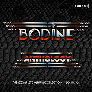 Bodine, 4CD-Box - Anthology
